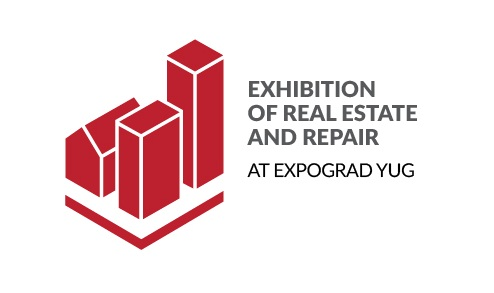 "The first New Year ""Exhibition of real estate and repair at Expograd Yug""."